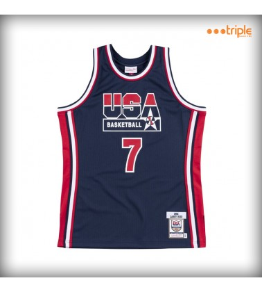 AUTHENTIC JERSEY NBA LARRY...